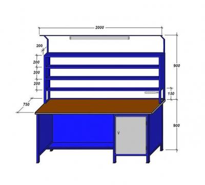 Стол для радиомонтажника своим руками